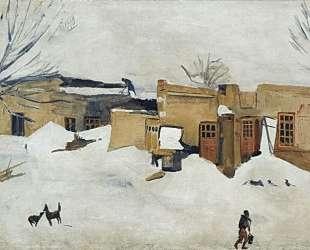 Winter in Yerevan — Мартирос Сарьян