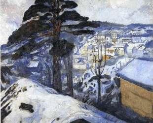 Зима, Крагеро — Эдвард Мунк