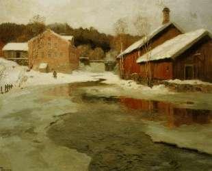 Зима — Фёдор Васильев