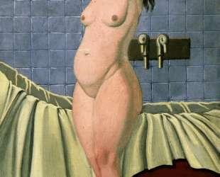 Woman aiu being capped Bath — Феликс Валлотон