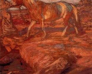 Woman and horse — Франтишек Купка