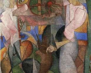 Woman at a Well — Диего Ривера