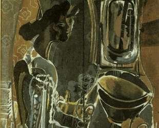 Женщина у зеркала — Жорж Брак