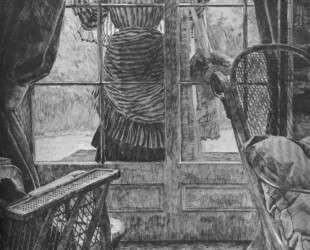 Woman at the window — Джеймс Тиссо