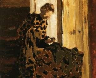 Woman Brushing a Garment — Эдуар Вюйар