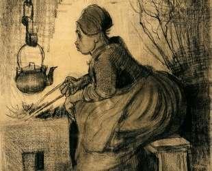 Woman by a Hearth — Винсент Ван Гог