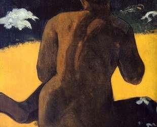 Женщина у моря — Поль Гоген