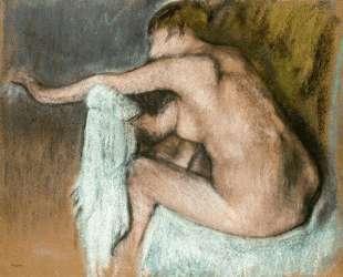 Женщина вытирает руку — Эдгар Дега