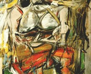 Woman I — Виллем де Кунинг