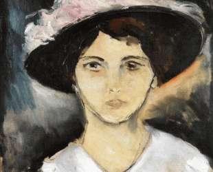 Woman in a Pink Hat — Морис де Вламинк