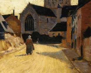 Woman in a Street — Поль Серюзье