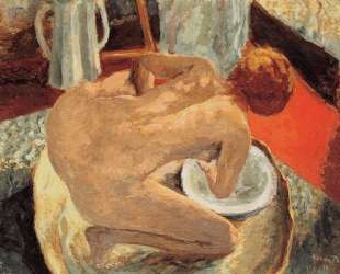 Woman in a Tub (also known as Nude Crouching in a Tub) — Пьер Боннар