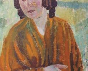 Женщина в желтой шали — Виктор Борисов-Мусатов