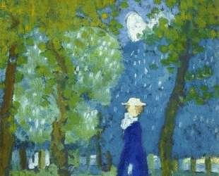 Woman in Blue — Морис Дени