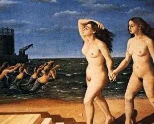 Женщина у моря — Поль Дельво