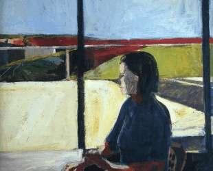 Woman in Profile — Ричард Дибенкорн