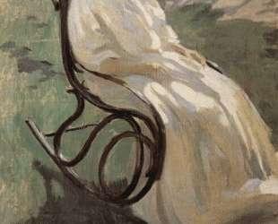Женщина в кресле-качалке — Виктор Борисов-Мусатов