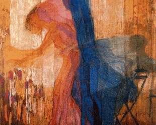Woman Picking Flowers — Франтишек Купка