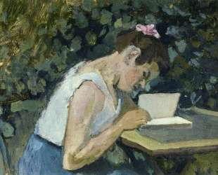 Woman Reading in a Garden — Анри Матисс