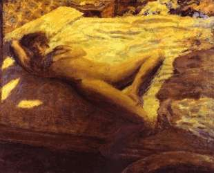 Woman Reclining on a Bed, or The Indolent Woman — Пьер Боннар