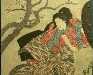 Woman Samurai — Утагава Куниёси