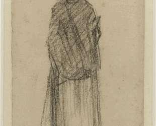 Стоящая женщина — Жорж Сёра