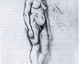 Woman Standing in Semi Profile — Анри де Тулуз-Лотрек