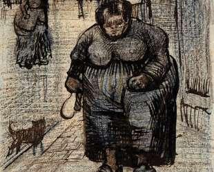 Woman Walking Her Dog — Винсент Ван Гог