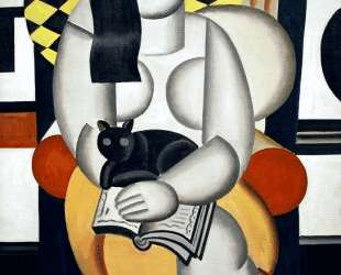 Woman with a Cat — Фернан Леже