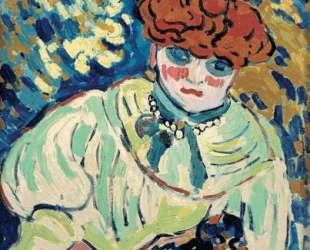 Woman With a Dog — Морис де Вламинк