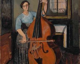 Woman with a Double Bass — Сюзанна Валадон