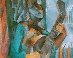 Woman with a Mandolin — Пабло Пикассо