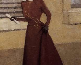 Woman with a Plumed Hat — Феликс Валлотон