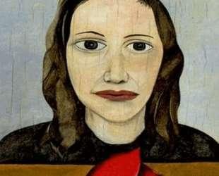 Женщина с тюльпаном — Люсьен Фрейд
