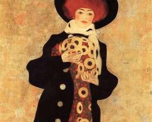 Woman with Black Hat — Эгон Шиле
