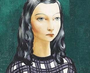 Женщина с каштановыми волосами — Моис Кислинг