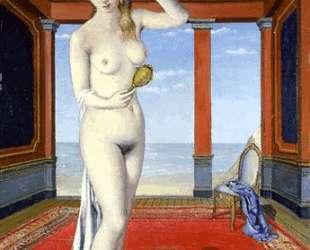 Женщина с зеркалом — Поль Дельво