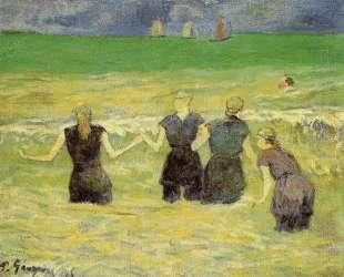 Женщины купаются (Дьепп) — Поль Гоген
