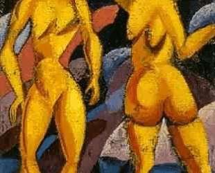Женщины из тропиков — Давид Бурлюк