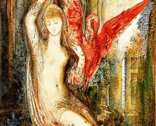 Women ibis pink — Гюстав Моро
