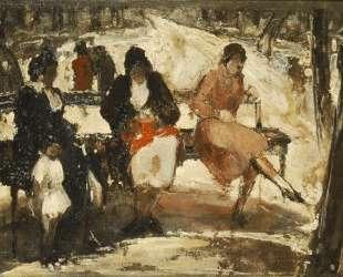 Women in the Royal Gardens — Теофрастос Триантафиллидис
