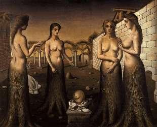 Женщины-деревья — Поль Дельво