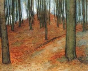 Буковый лес — Пит Мондриан