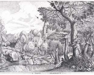 Деревня в лесу — Питер Брейгель Старший