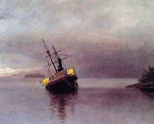Wreck of the 'Ancon' in Loring Bay, Alaska — Альберт Бирштадт