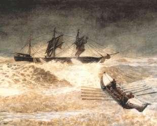 Wreck of the iron crown — Уинслоу Хомер