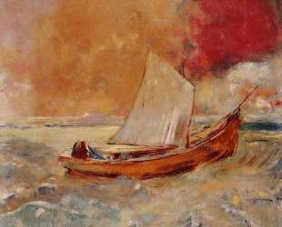 Yellow Boat — Одилон Редон