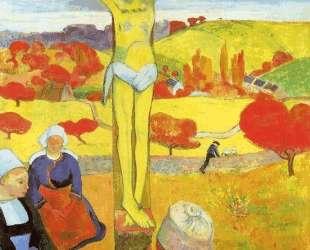 Желтый Христос — Поль Гоген