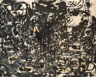 Желтый остров — Джексон Поллок