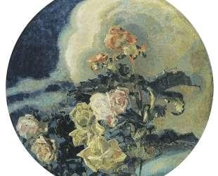 Yellow roses — Михаил Врубель